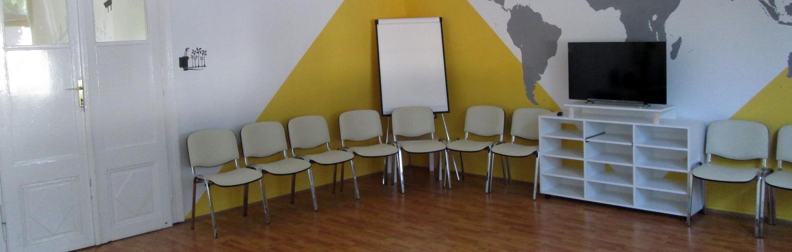 Kor-társ, a tréning szoba